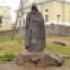 Памятник преподобному Нилу Столобенскому на острове Столобном