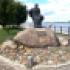 Единственный в мире памятник бурлаку