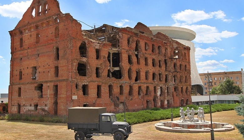 Руины мельницы Гергардта напоминают о тех 200 страшных днях, когда длилась битва на Волге.