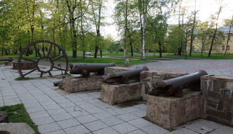 Губернаторский сад в Петрозаводске