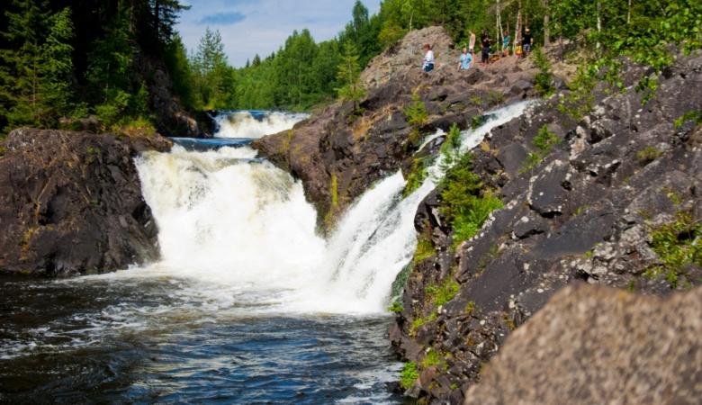 Воспетый Державиным водопад Кивач
