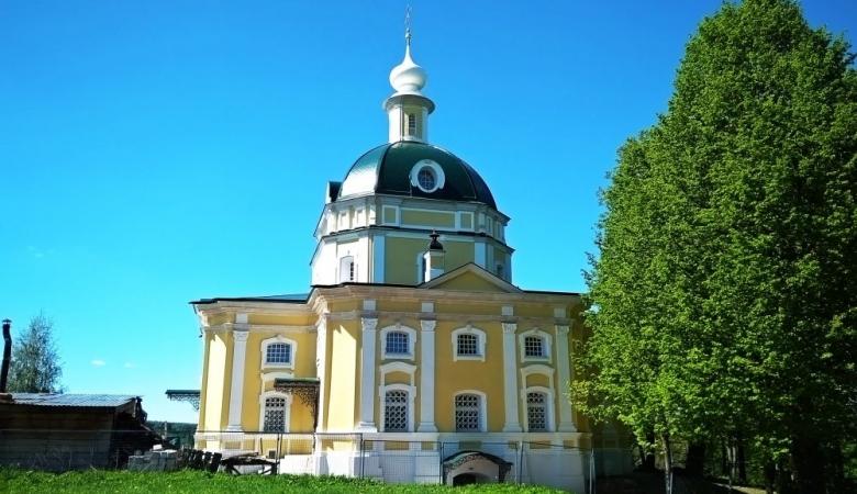 Храм в Тараканово, где венчались А.Блок и Л.Менделеева