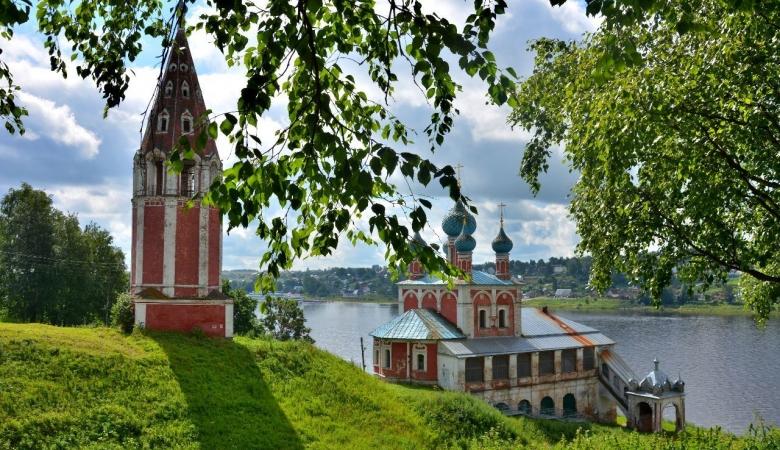 Пейзажи Тутаева узнаваемы на полотнах Кустодиева