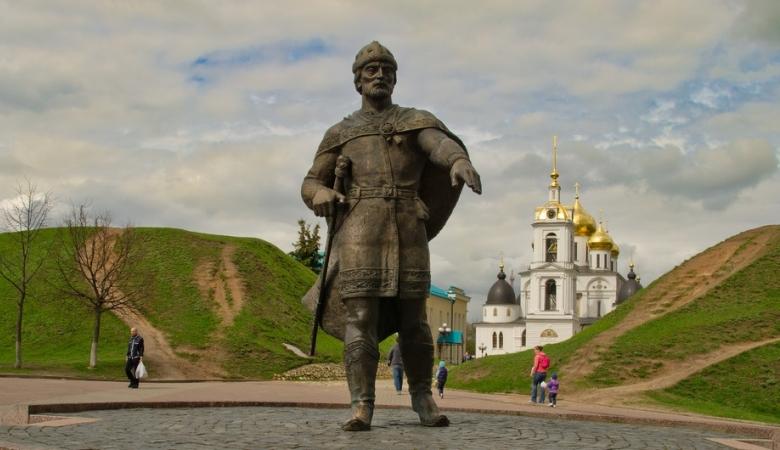 Основатель Дмитрова Юрий Долгорукий